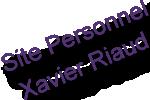 Site personnel du docteur Xavier Riaud